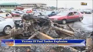 Victims of fuel tanker explosion appeal for succour