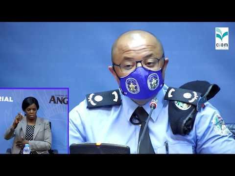 (14.05.2020) Governo actuaiiza dados sobre Covid-19 em Angola (AO VIVO)