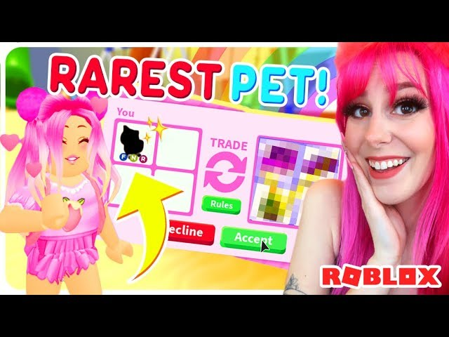 Megan Plays Avatar On Roblox I Traded My Most Valuable Pet In Roblox Adopt Me Adopt Me Roblox Trading Youtube