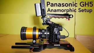 GH5 Anamorphic Rig Setup, ISCO Ultra-Star, Canon FD 50mm F1.4, Zacuto GH5 Cage and VCT Pro