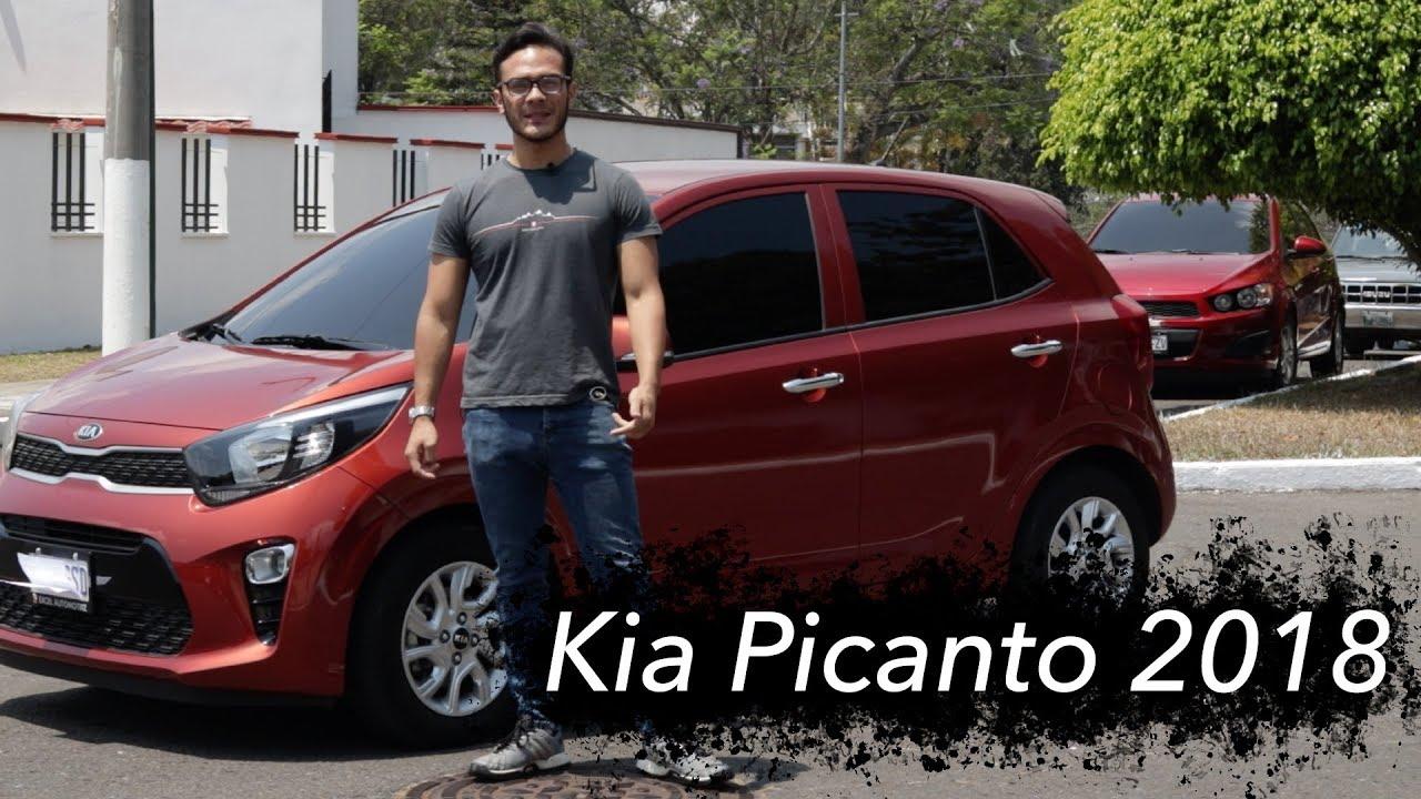 Kia Picanto 2018 Pequeno Pero Lujos Por Su Categoria Version