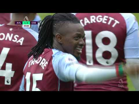 Aston Villa Chelsea Goals And Highlights