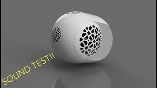 devialet Phantom Inspired DIY Bluetooth Speaker (3D Printed, by Philip Erren) Part II
