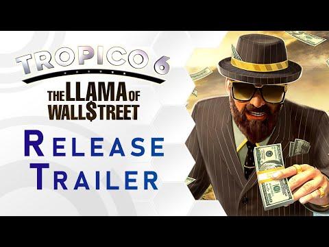 Tropico 6 DLC: The Llama of Wallstreet Trailer (DE)