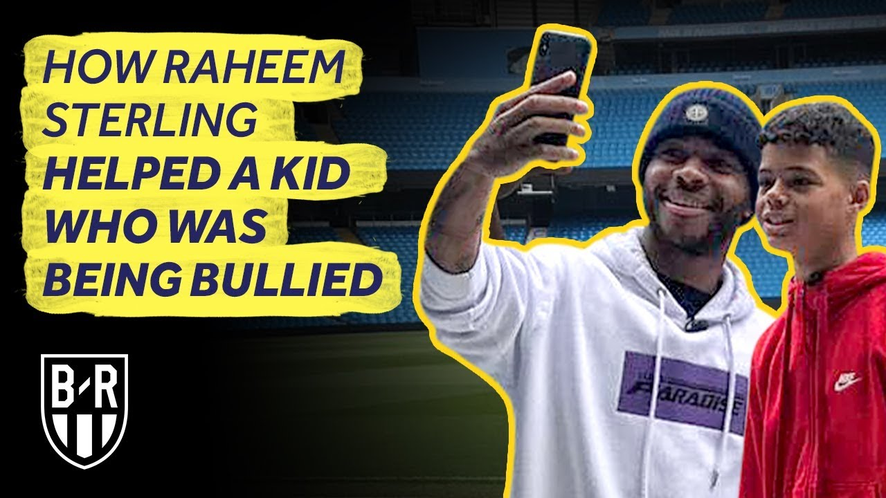 Raheem Sterling Befriends A Young Fan Who Was Racially Abused At School