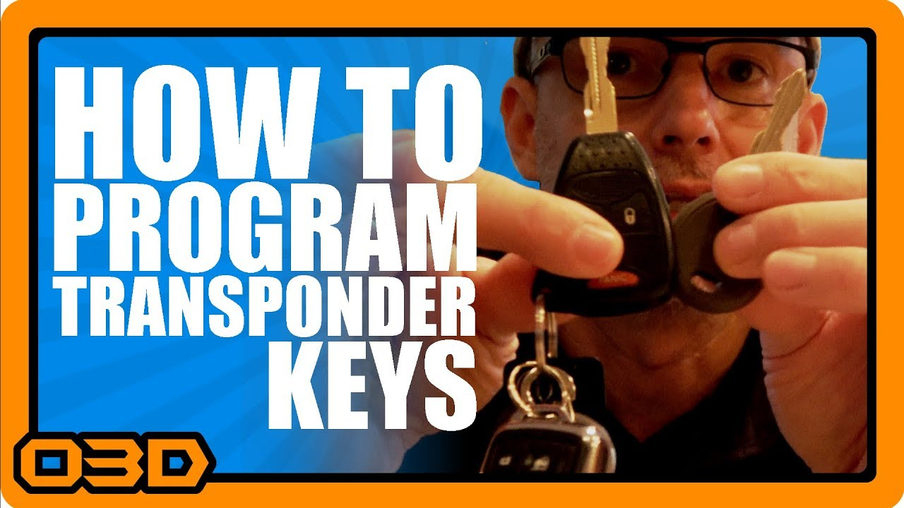 Its Easy How To Program Transponder Keys For Late Model Jeep