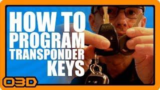IT'S EASY!!! How To Program Transponder Keys for Late Model Jeep Wrangler