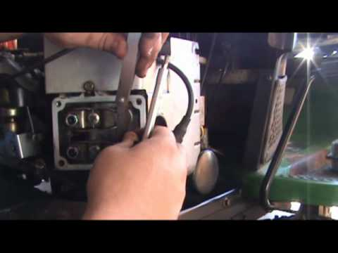 John Deere L120- Valve adjustment and push rod replacement