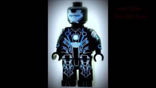 Custom Lego Minifigures, Batman, Marvel, X-Men, Lantern, Superman, Superheroes Minifigs Penzora