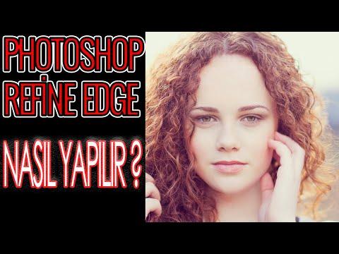 REFİNE EDGE İŞLEMİ PHOTOSHOP KULLANILARAK NASIL YAPILIR