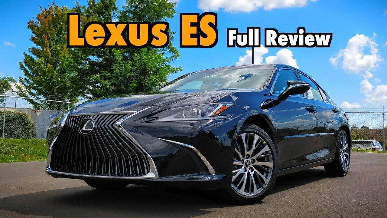 2019 lexus es 350  full review