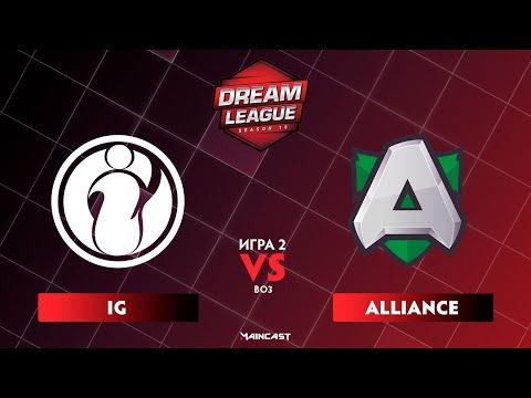 Invictus Gaming vs Alliance vod
