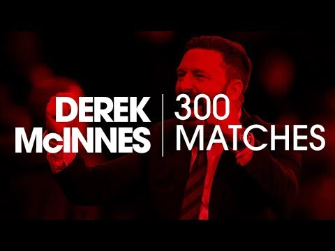 Derek McInnes | 300 matches