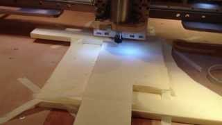 Homemade Diy Cnc Router With Linux Cnc , First Cuts And Trials On My Cnc Homemade