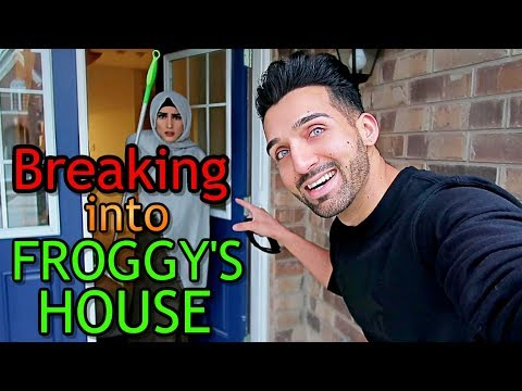 BREAKING into FROGGY'S HOUSE (Hilarious Reaction!!)