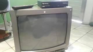 conversor digital em TV que não possui entrada áudio e vídeo