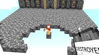 Ich zerstöre seine Bedrock Blöcke mit einem Item😲.. Minecraft LUCKY BLOCK BEDWARS