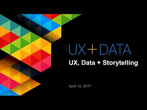 UX+Data Storytelling