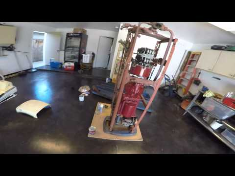 Restoring Vintage Gas Pump.
