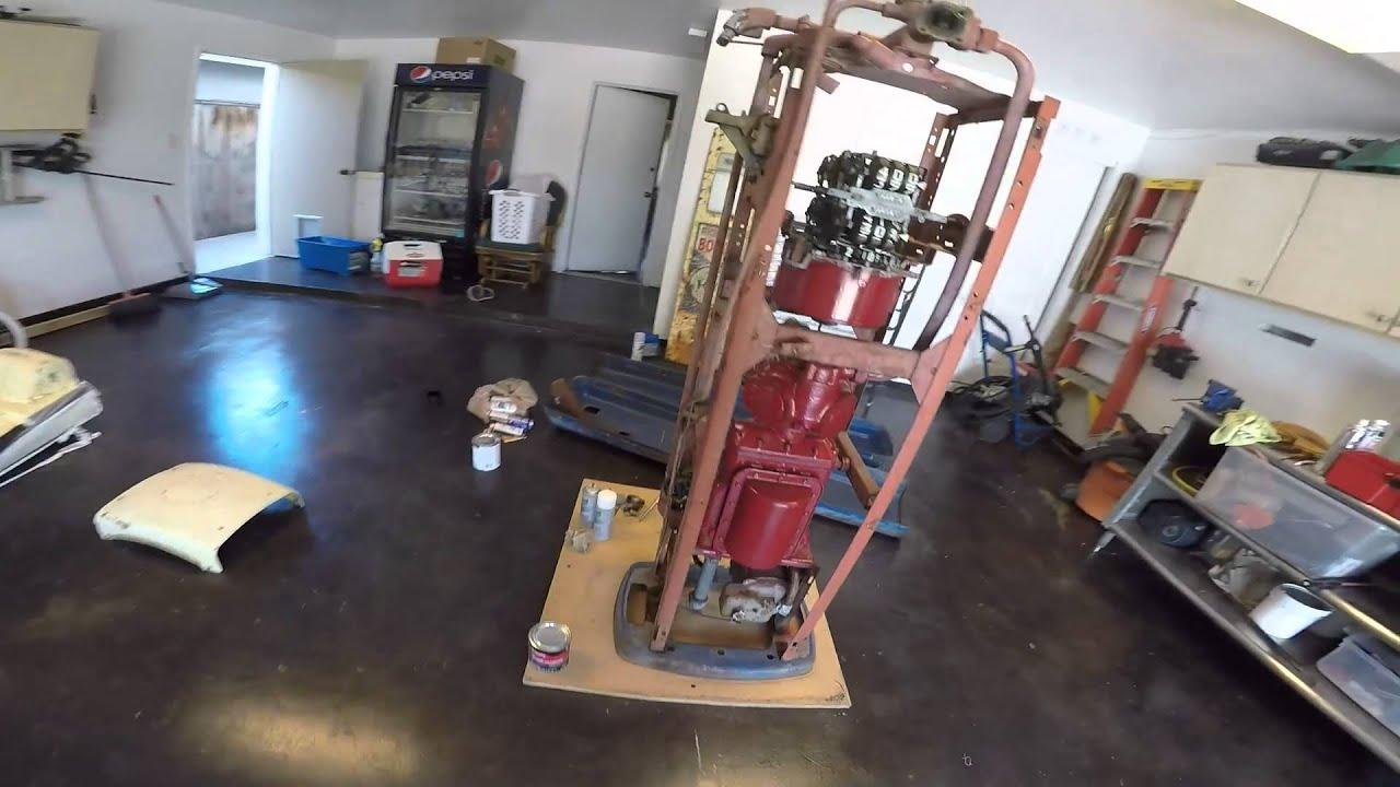 Restoring Vintage Gas Pump