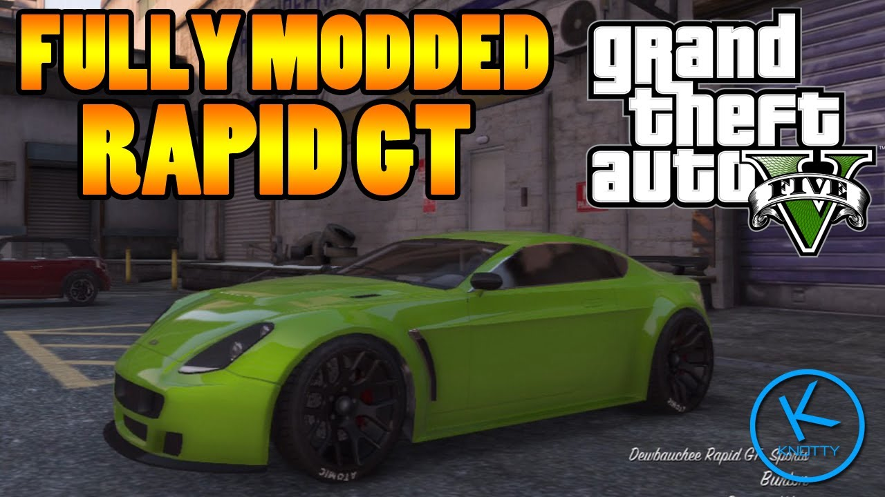 GTA 5 Fully Modified: Dewbauchee Rapid GT - YouTube