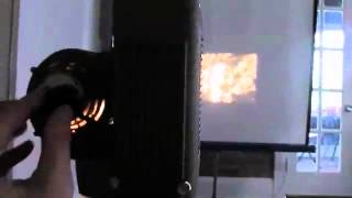 Vintage Revere Deluxe 90 Standard 8mm Projector Demo!