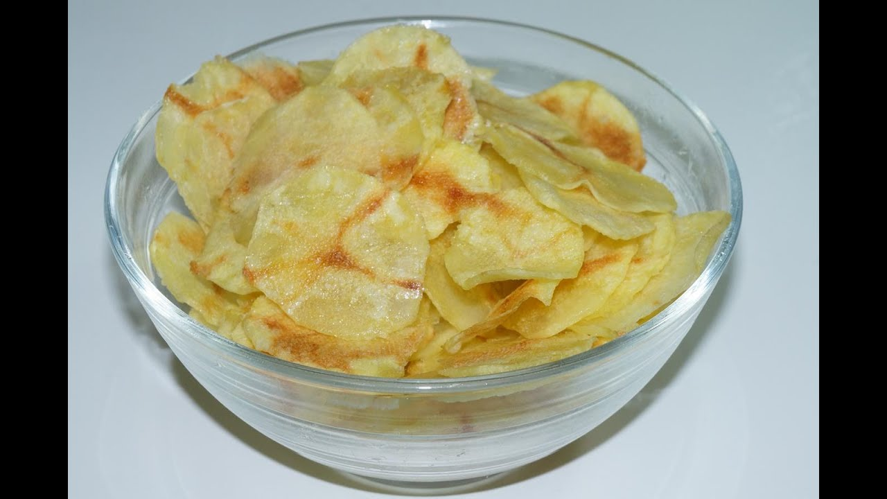 Chips Au Micro Onde Cuisinerapide Youtube