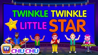Twinkle Twinkle Little Star - Nursery Rhymes Karaoke Songs For Children | ChuChu TV Rock