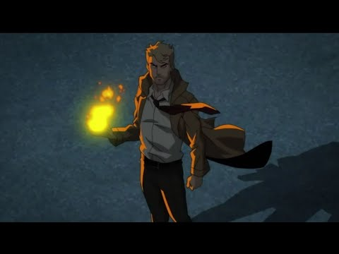 John Constantine - All Spells & Powers Scenes (JLD)
