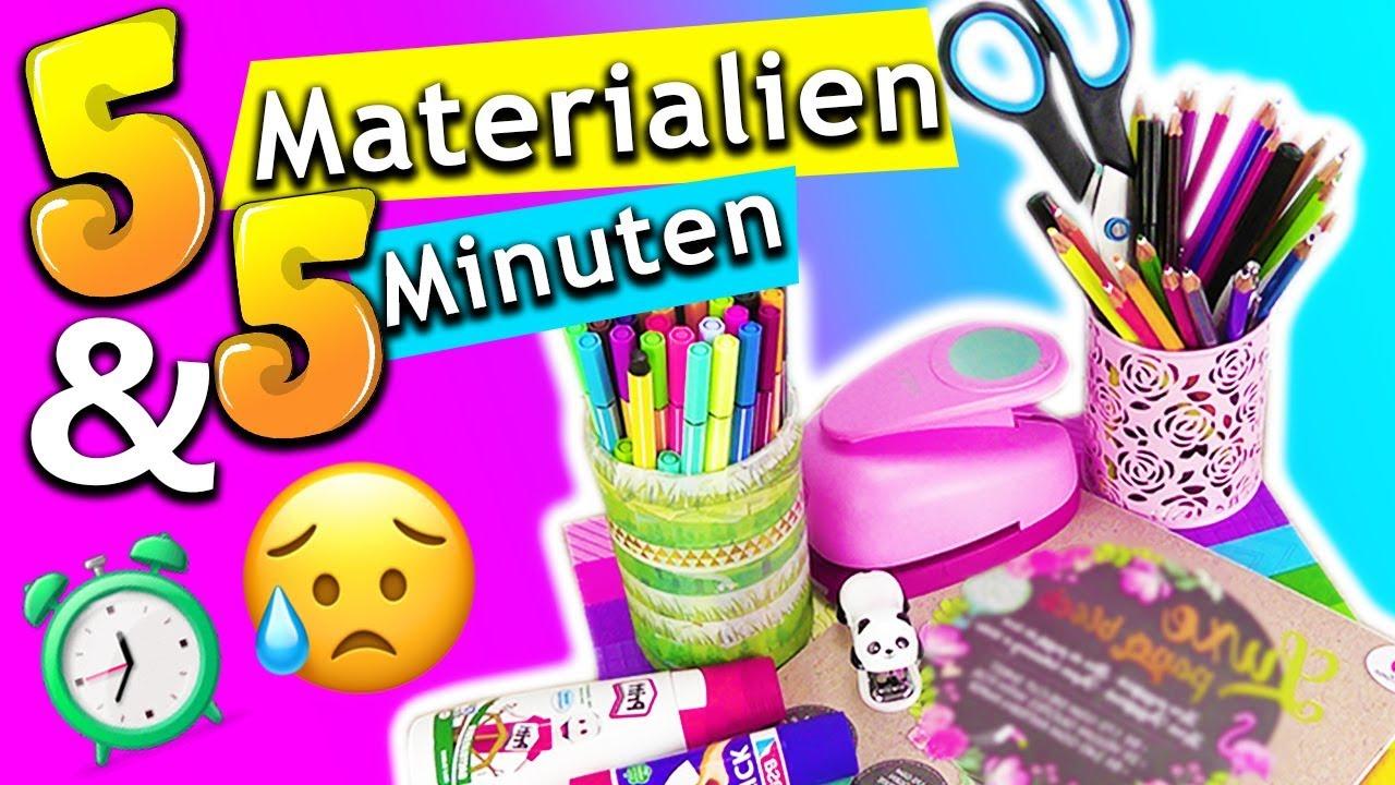 Diy Bastelideen Challenge 5 Materialien 5 Minuten Bff Uberraschen