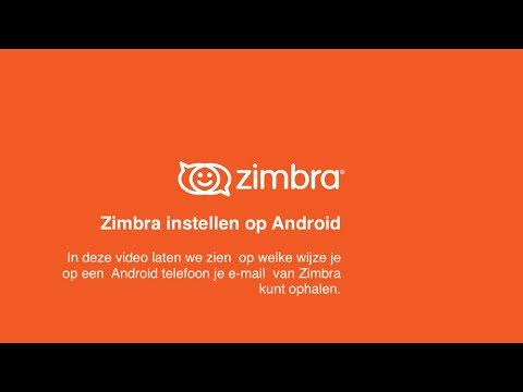 Zimbra Tips & Tricks - Zimbra Instellen Op Android