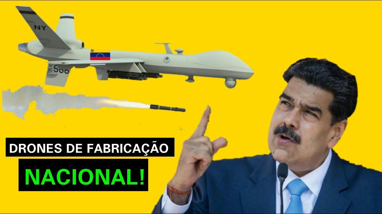 Maduro anuncia que a Venezuela fabricará seus próprios drones de defesa