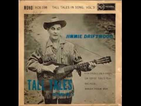 Jimmy  Jimmie Driftwood  The Battle Of New Orleans 1959 HQ