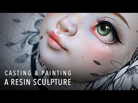 "Creating a Hand Cast Resin Sculpture - ""Bloom"""