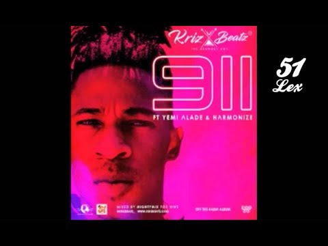 KrizBeatz ft Yemi Alade X Harmonize - 911 (Official Audio)