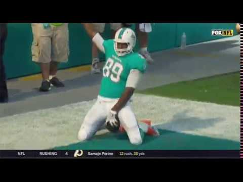 Dolphins Julius Thomas Breaks Out Interesting Touch Down Celebration