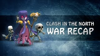 Clash of Clans | North Watchers War Recap #10 - South Korean Clan