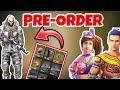 New Pre-order Update   Free Clothes In Freefire / Garena Freefire