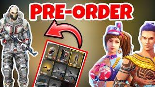 New Pre-order Update | Free Clothes In Freefire / Garena Freefire