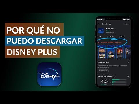 Por qué NO me Puedo Descargar Disney Plus