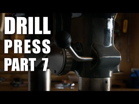 Drill Press Restoration Part 7 - Spindle & Quill