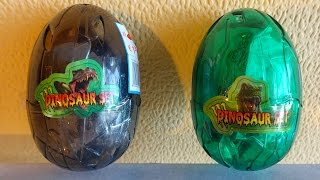 Full HD Movie 2 Surprise Eggs Dinosaur & Dragon Set Unboxing Monsters Toys 恐竜