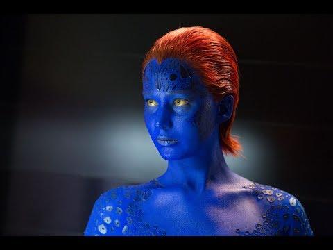 Mystique (Jennifer Lawrence) - All Scenes Powers | X-Men Movies Universe