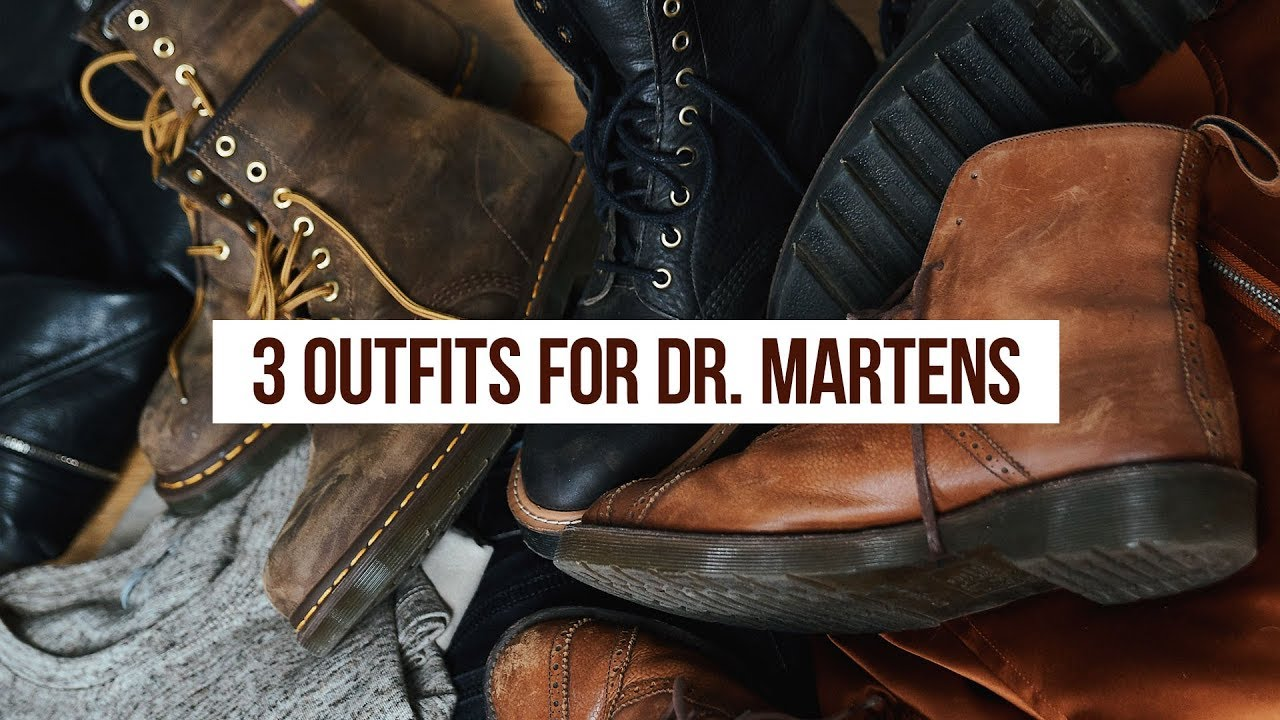 8a567208139 3 Outfit Ideas for Doc Martens Boots | OneDapperStreet | Men's ...