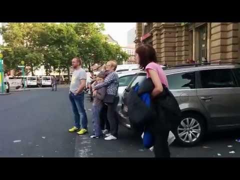 Bus station incident in Frankfurt am Main