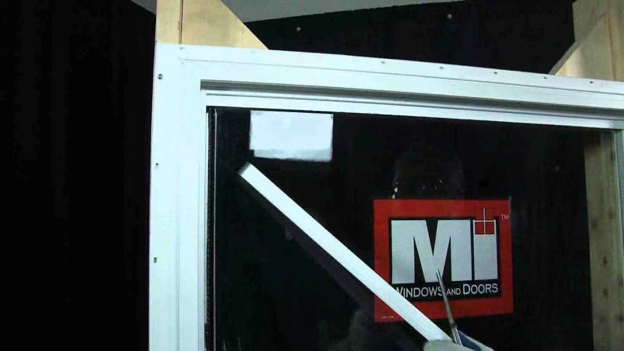 MI Windows And Doors How To Video: Changing Fixed Top Glass   YouTube