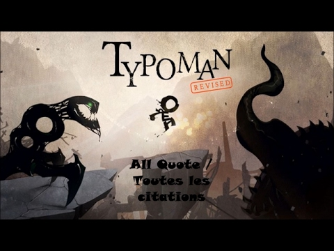 Typoman Revised All Quote / Toutes les citations