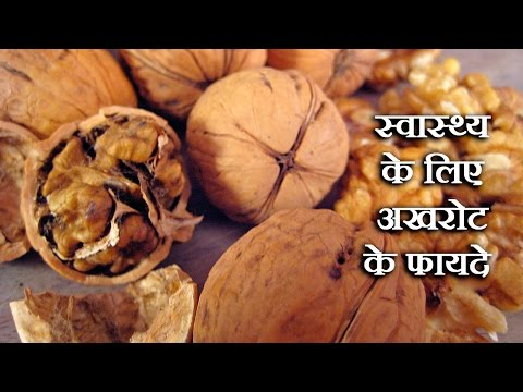 Walnut Benefits For Health In Hindi By Sonia Goyal - अखरोट के लाभ @ jaipurthepinkcity.com