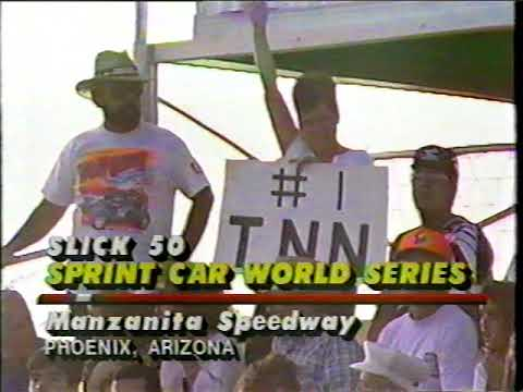 1992 Slick 50 Sprint Car World Series At Manzanita Speedway - (Week #2)
