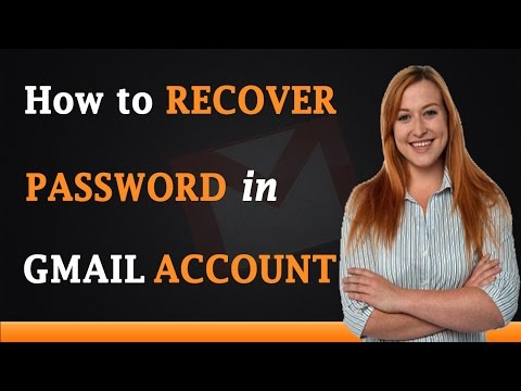 How to Recover Password in Gmail Account